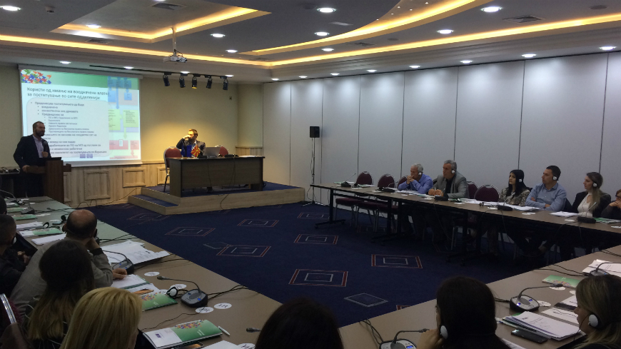 Workshops held in North Macedonia