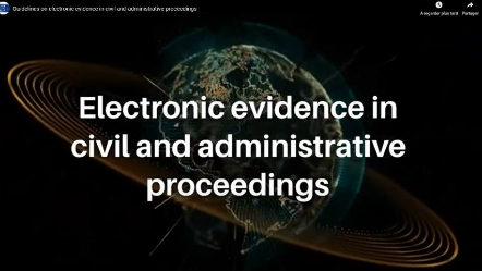 COVID-19 and Electronic Evidence
