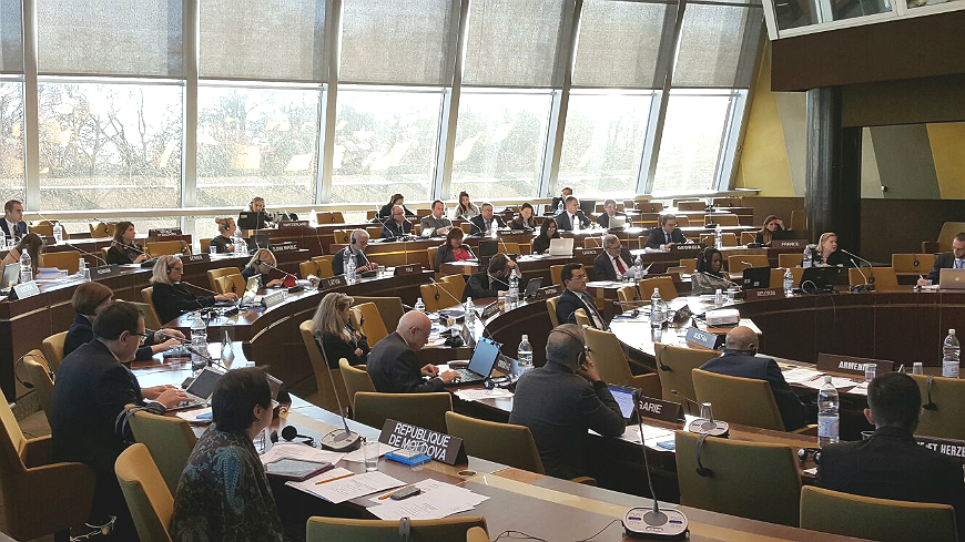 The European Committee on Crime Problems held its plenary meeting