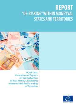 De-risking within MONEYVAL States and territories (2015)
