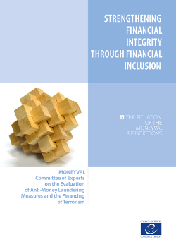 Strengthening Financial Integrity through Financial Inclusion (2014)