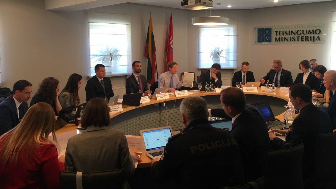 Council of Europe anti-money laundering and counter-terrorist financing Committee visits Lithuania