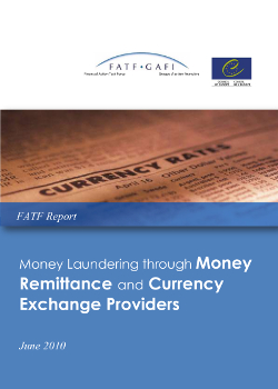 Money laundering through Money Remittance and Currency Exchange Providers - Study