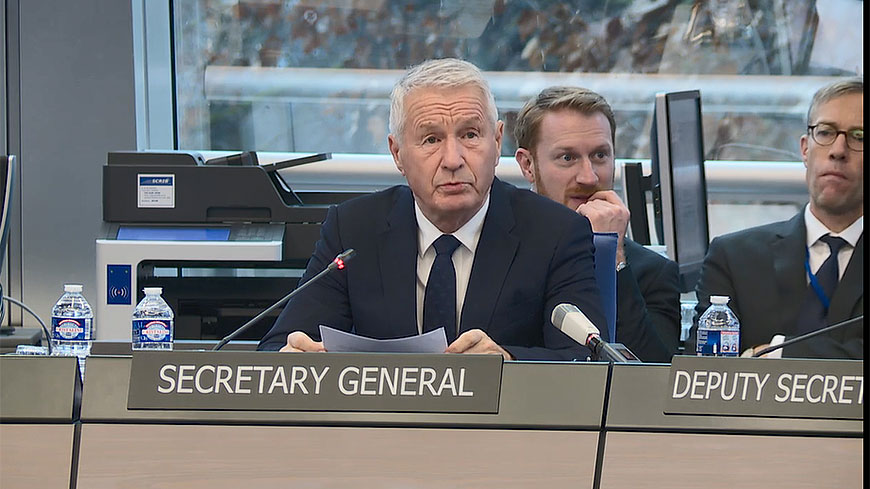 Statement by Council of Europe Secretary General Thorbjørn Jagland on terrorist attack in Strasbourg