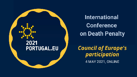 The Council of Europe participated in the International Conference on Death Penalty