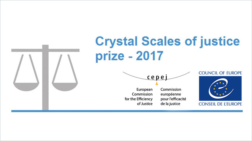 Council of Europe Crystal Scales of Justice Prize 2017 - Publication of the final selection