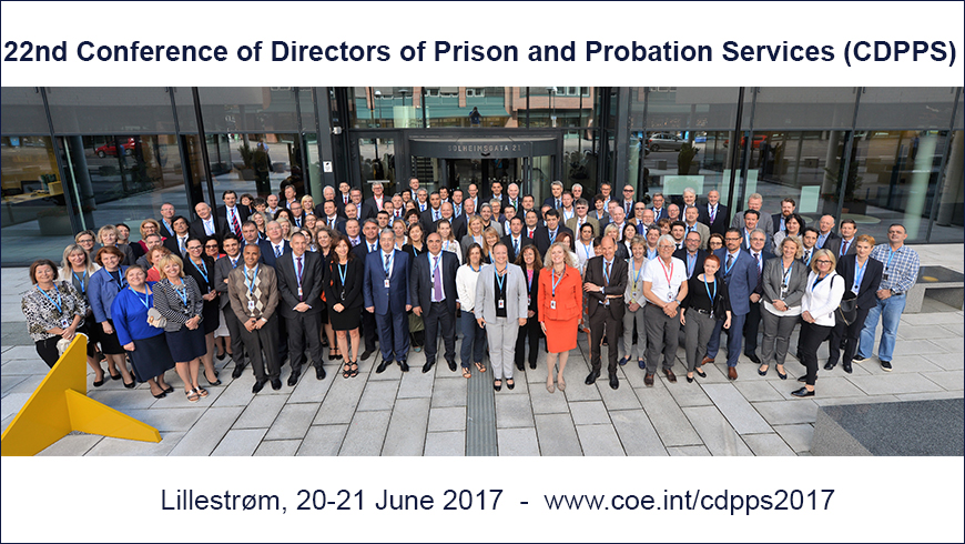 The Conference of Directors of Prison and Probation Services calls for agreed European standards regarding recruitment, training and development of prison and probation staff