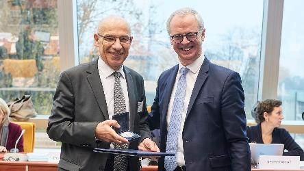 The Council of Europe awards the Pro Merito Medal to Mr Jean-Paul JEAN