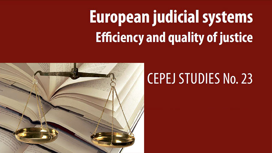 Publication of the CEPEJ 2016 report evaluating the European judicial systems and public access to the database CEPEJ-STAT