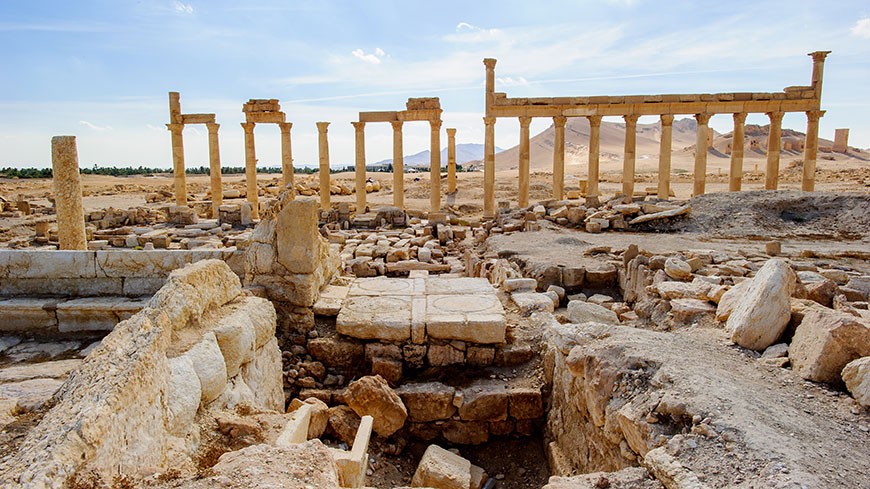 Illicit trafficking and destruction of cultural property: new Council of Europe convention opened for signature
