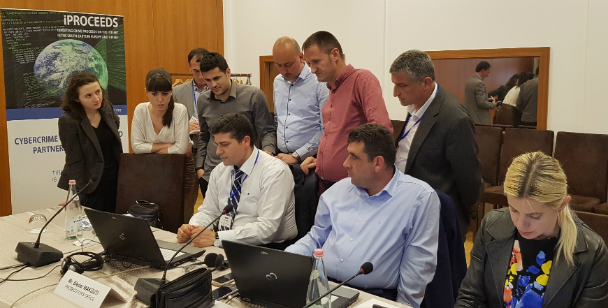 iPROCEEDS: Cybercrime Simulation Exercise: Investigating cybercrime and its financial gain