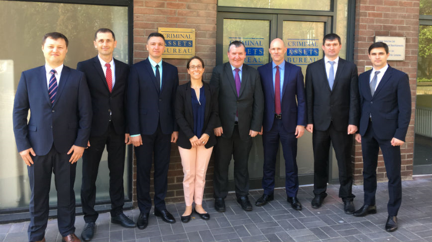 Study visit of Moldovan asset recovery officials to the Criminal Assets Bureau in Ireland