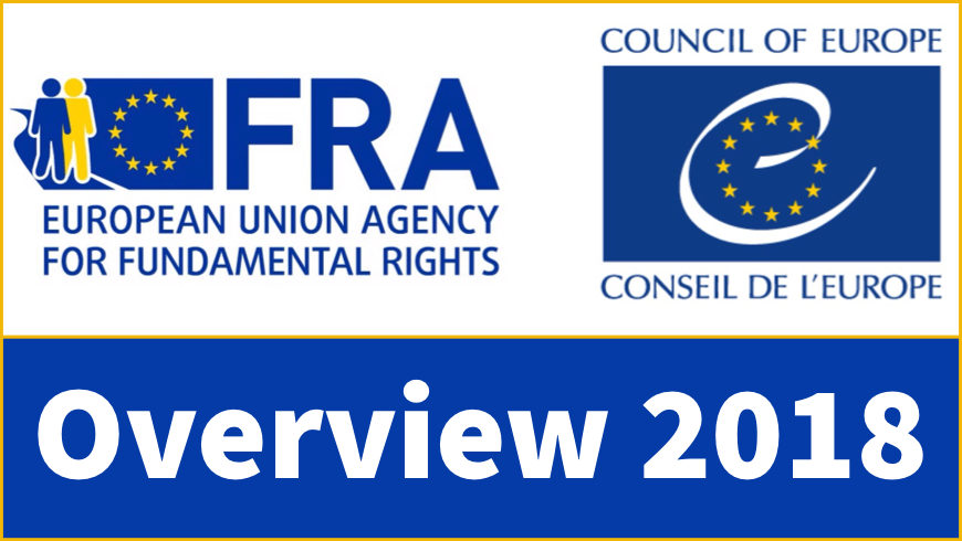 European Union Agency for Fundamental Rights and Council of Europe cooperation