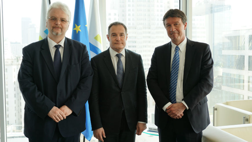 The President of the Council of Europe Anti-torture Committee (CPT) and the CPT's Executive Secretary met the Executive Director of FRONTEX