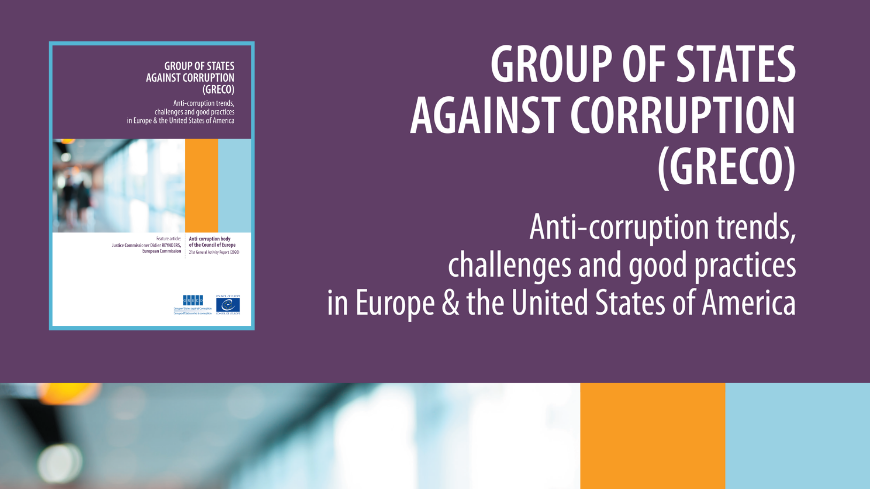GRECO urges states to prevent corruption risks in measures aimed at tackling the economic impact of the COVID-19 pandemic