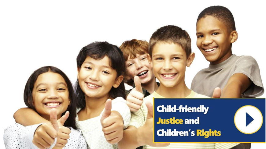 Launch of the course on Child friendly Justice and Children's Rights