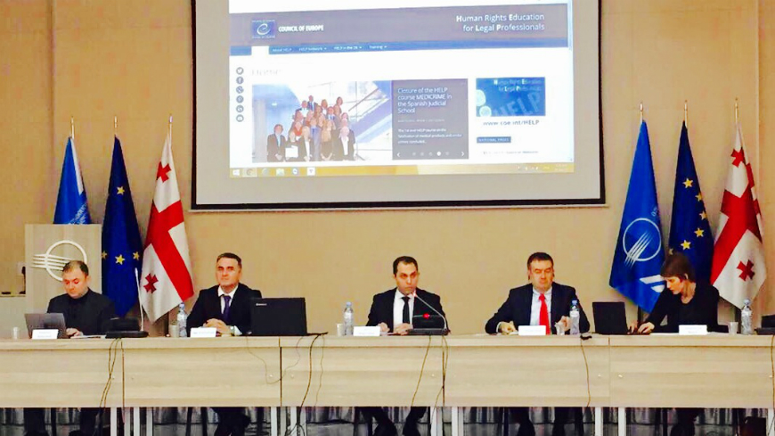 First HELP Training-of-Trainers in Georgia