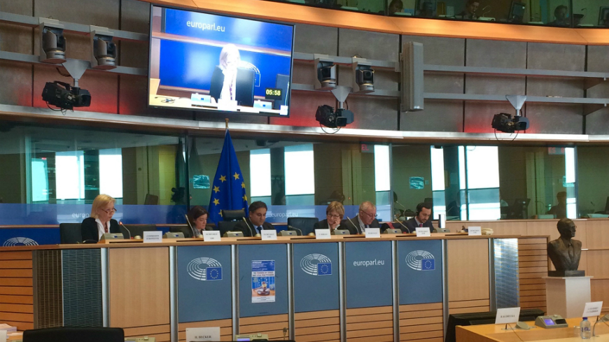 Human Rights Education for Legal Professionals Programme presented at the European Parliament