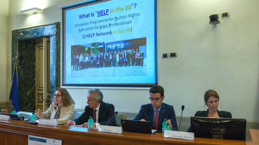 """HELP in the 28"" course on Data Protection and Privacy Rights launched in Italy"