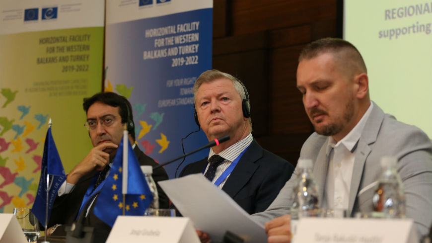 Addressing radicalisation in prisons and fighting violent extremism in the Western Balkans with EU and Council of Europe support