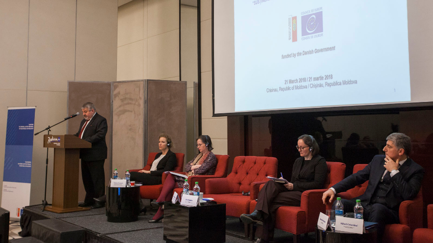 "Project achievements discussed at the Closing Conference of the Council of Europe Project ""Support to Criminal Justice Reforms in the Republic of Moldova"""
