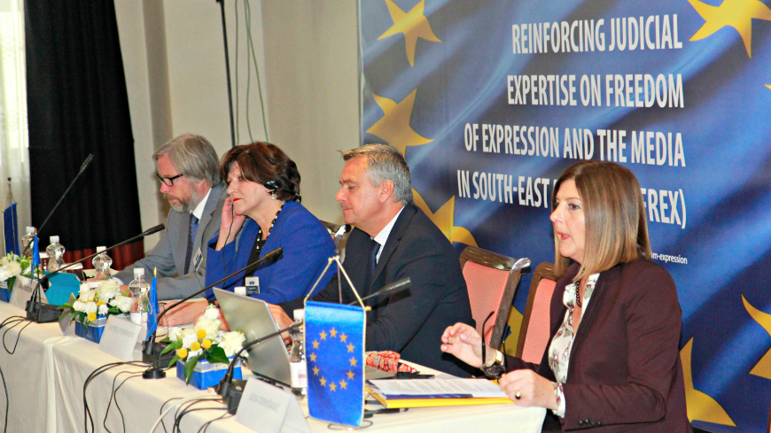 New initiative to strengthen standards on freedom of expression and the media in South-East Europe