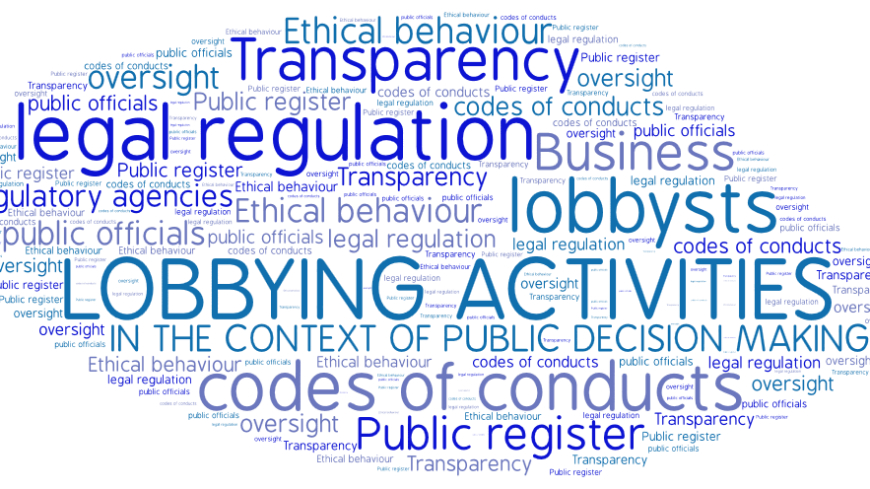 Consultation on the legal regulation of lobbying activities