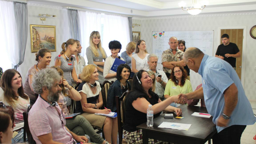 Workshops on PTSD and SUD prevention in Ukraine