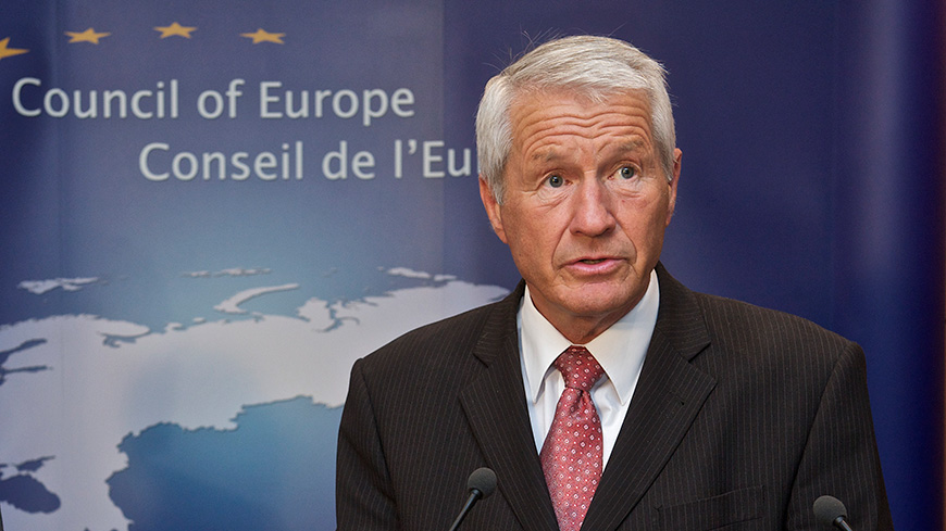 Incident in London : statement by Secretary General Thorbjørn Jagland