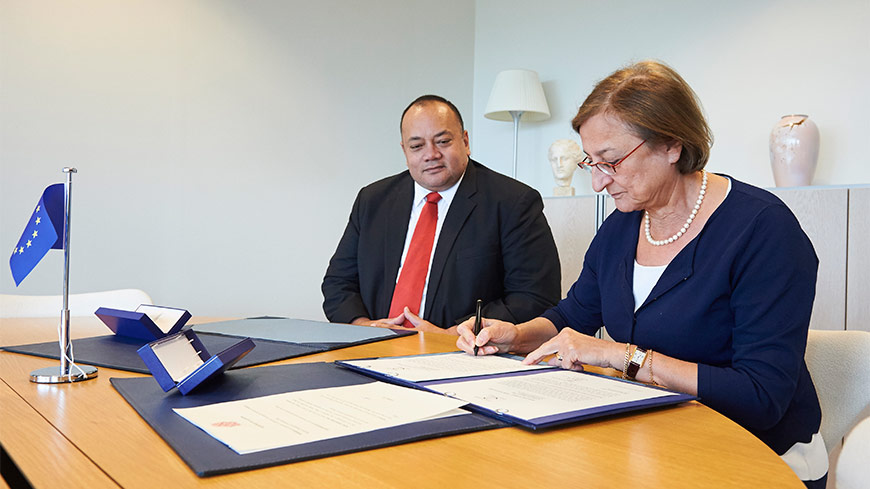 Tonga joined the Budapest Convention on Cybercrime