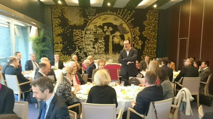 Working breakfast: Media and Information Society in the Council of Europe and beyond