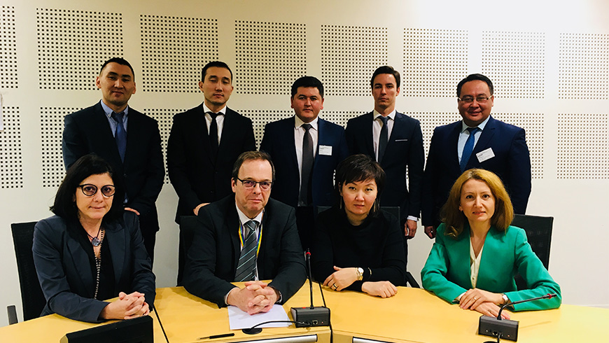 Representatives of the General Prosecutors Office of Kyrgyzstan visit the Council of Europe