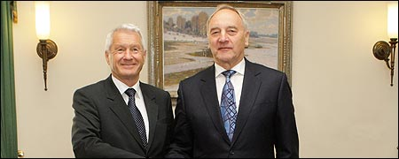 Secretary General visits Latvia
