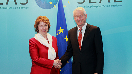 Thorbjørn Jagland and Catherine Ashton to discuss Ukraine in Brussels