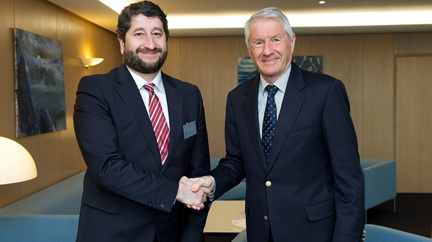 Secretary General met the Minister of Justice of Bulgaria