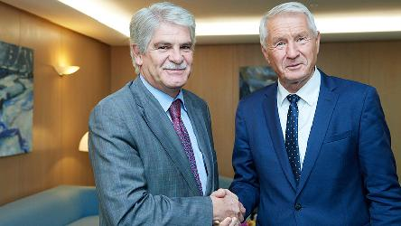 Spokesperson of the Secretary General: Meeting between Secretary General Jagland and the Foreign Minister of Spain, Alfonso Dastis Quecedo