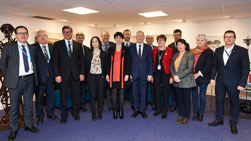 Secretary General meets the new French parliamentary delegation