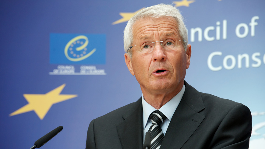 Secretary General Jagland in Sofia for Council of Europe Committee of Ministers meeting 18 May