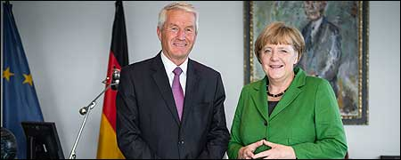 Secretary General Jagland visits Germany