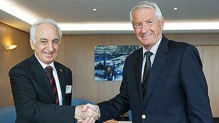 Secretary General meets new Chief Ombudsman of Turkey