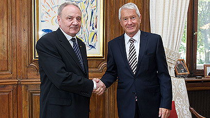 Secretary General Jagland's comments on his meeting with Nicolae Timofti, President of the Republic of Moldova