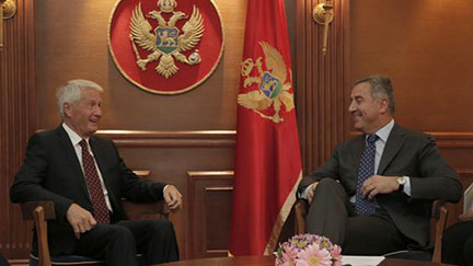 Secretary General makes official visit to Montenegro