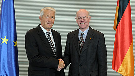 Secretary General meets with President of German Bundestag