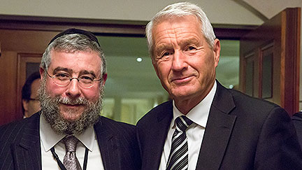 Berlin: Secretary General speaks to Conference of European Rabbis