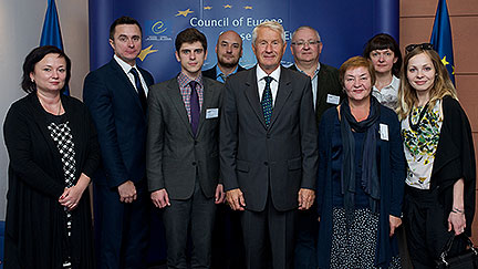 Secretary General meets Belarusian NGOs to discuss human rights, death penalty, work on the ground