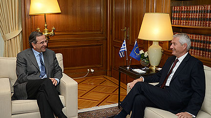 Secretary General Jagland on official visit to Greece