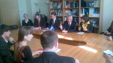 Secretary General Jagland and Austrian Foreign Minister Kurz on joint mission to Kiev