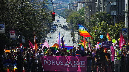 Secretary General welcomes Serbia's move to allow Belgrade Pride event