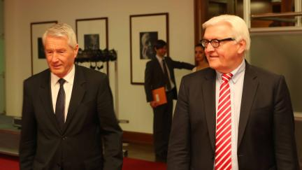 Secretary General Jagland meets German Foreign Minister Steinmeier