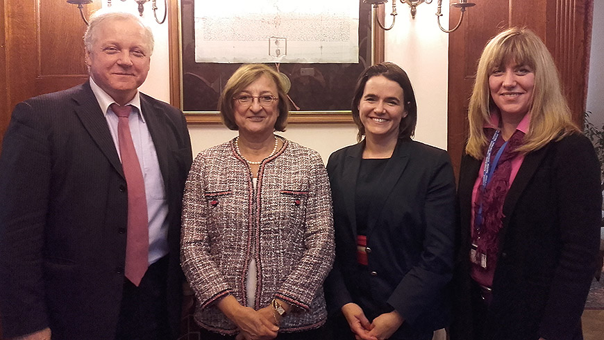 Deputy Secretary General meets Hungarian Minister of State for Family and Youth Affairs
